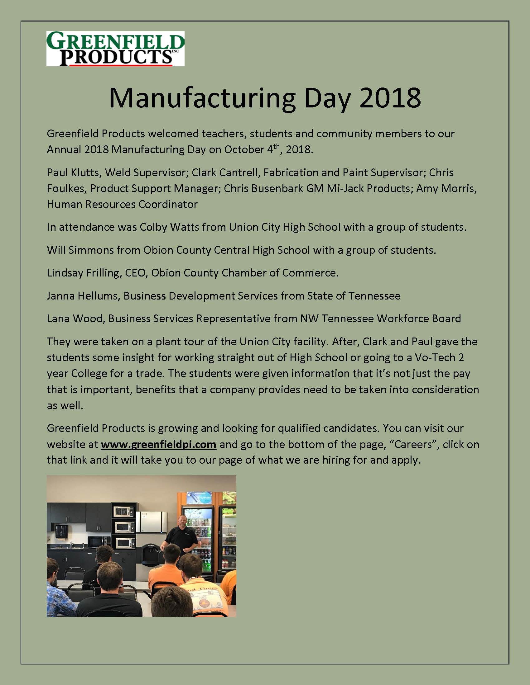 Manufacturing Day 2018 Greenfield edit Page 1