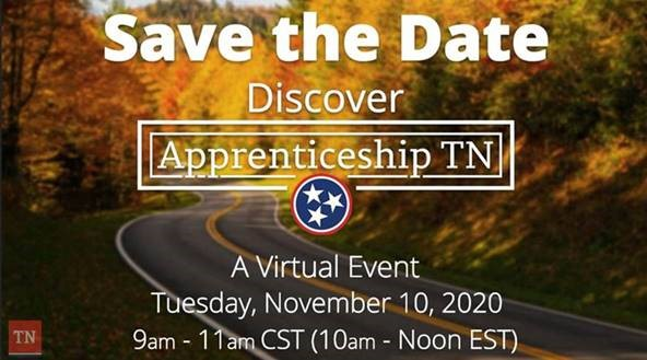apprenticeship Save the date 2020