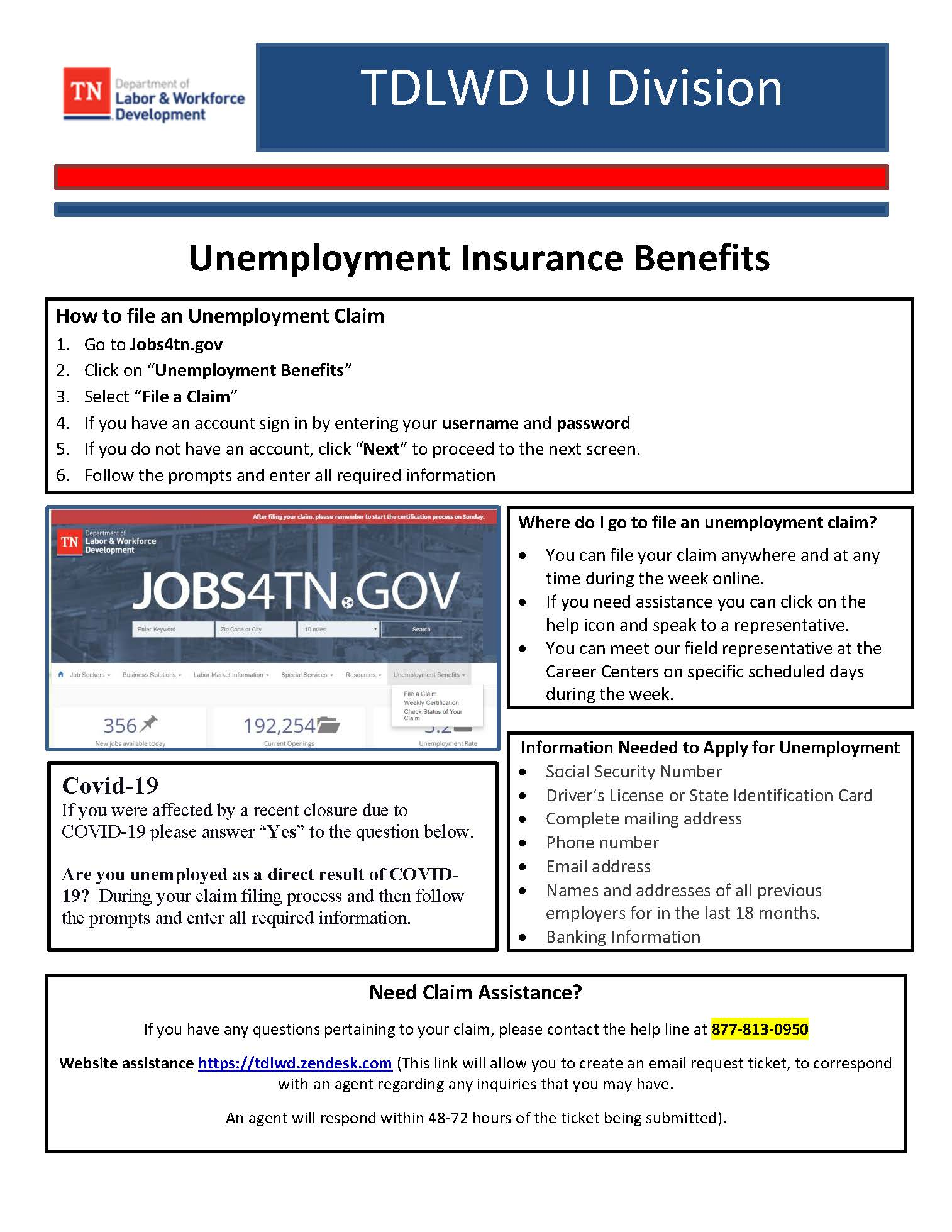 Guide to File for Unemployment COVID 19